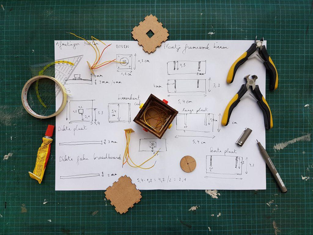 imagen de desarrollo de un prototipo