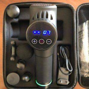 display de velocidad y batería de la pistola de masaje 2nlf